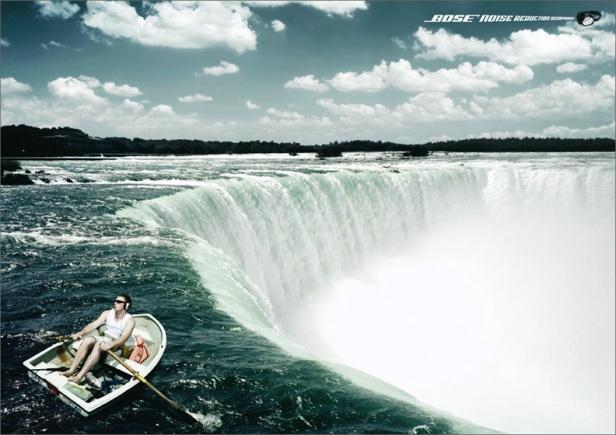bose-advert-boat-by-waterfall