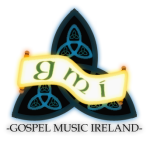 Gospel Music Ireland logo - White background