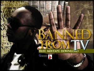 JayEss - Banned From TV Mixtape cover