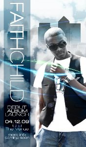 Faith Child album flyer