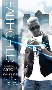 Faith Child album flyer