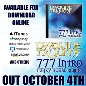 Tryumf - 777 remix single Click flyer to buy on Amazon