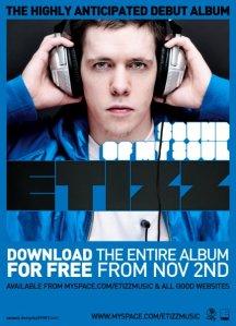 ETizz - Sound Of My Soul Flyer