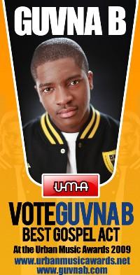 Guvna B - UMA Vote flyer