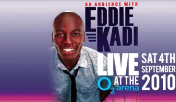 Eddie Kadi - Audience with flyer