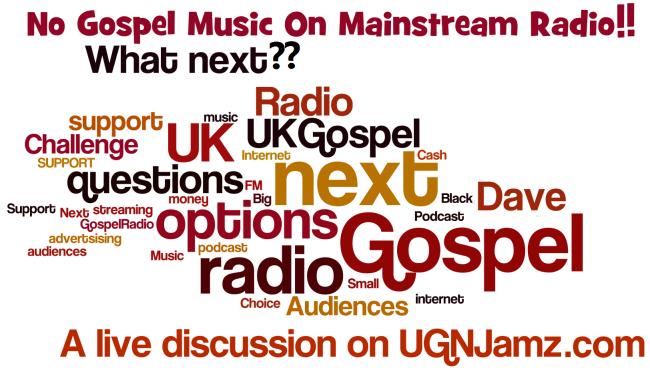 No Gospel on Mainstream Radio