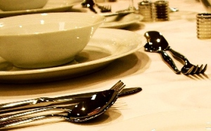 Cutlery and Plate setting