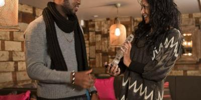 Triple O collects the 2011 Gospel Award from MOBO from founder Kanya King