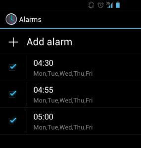 1.Alarm