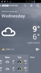 3. Weather Forecast