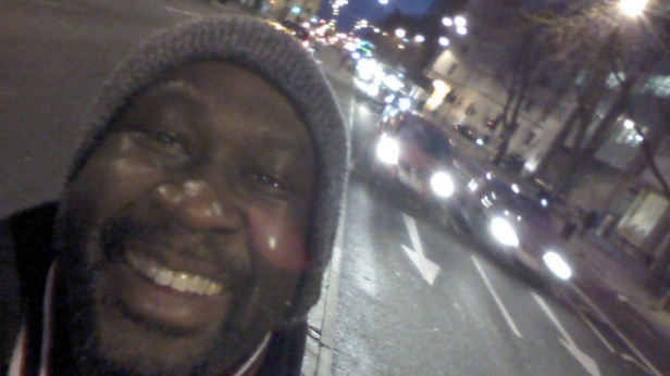 Yinka at Vauxhall Bridge Road