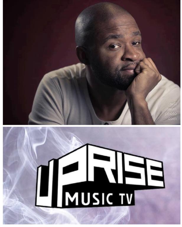 Shabazz L Graham and Uprise Music TV logo