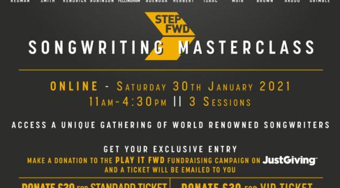 AStepFWD Songwriting Masterclass 2021
