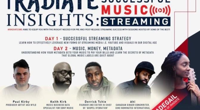 Successful Music Streaming Seminar – this weekend!
